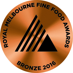 Royal Melbourne Fine Foods Awards Bronze