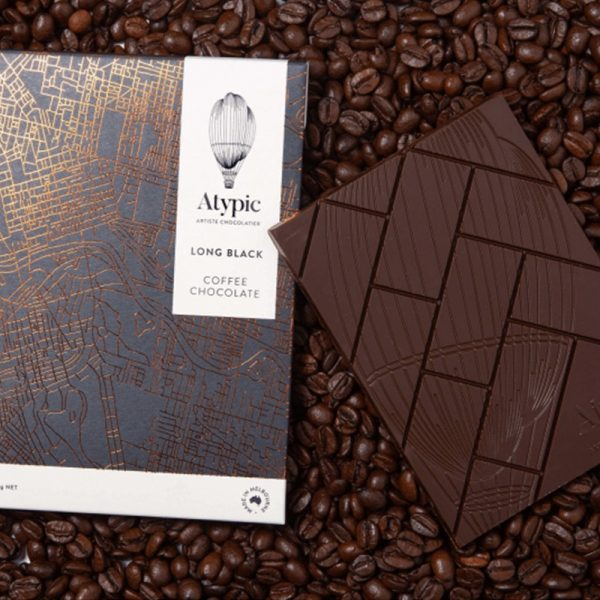 Long black coffee chocolate atypic