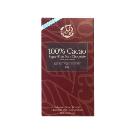 17 Rocks 100% Dark Chocolate (sugar-free)