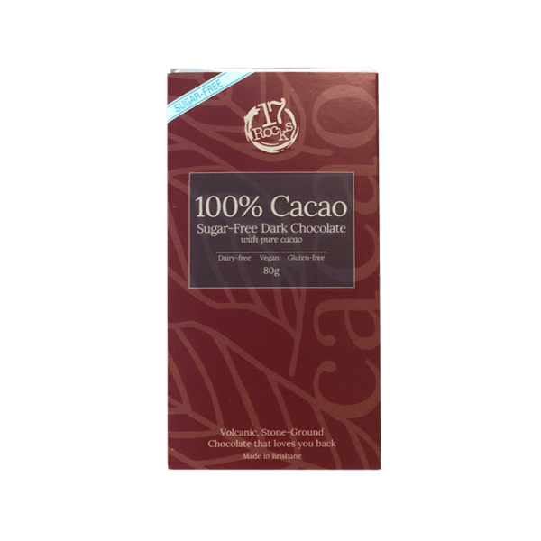 17 Rocks 100% Dark Chocolate (sugar-free)