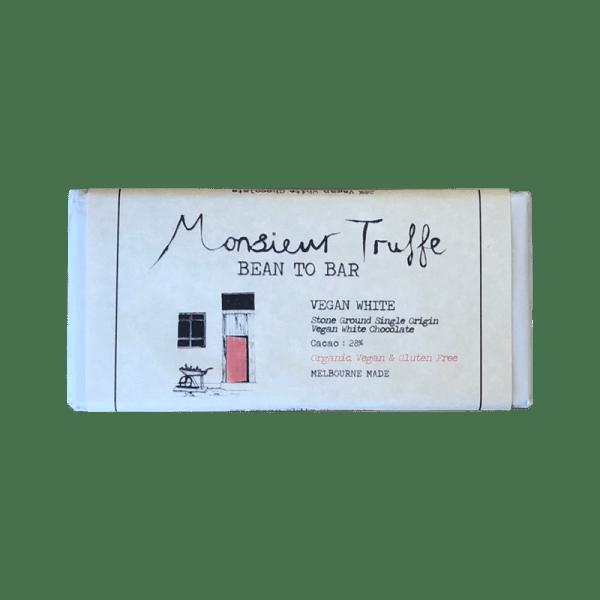Monsieur Truffe Vegan White Chocolate