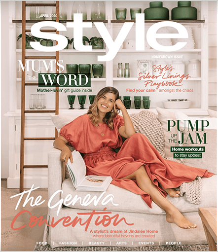 Style Magazine Cover April 2020