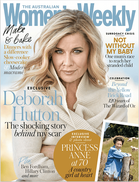 Womens Weekly Cover August 2020
