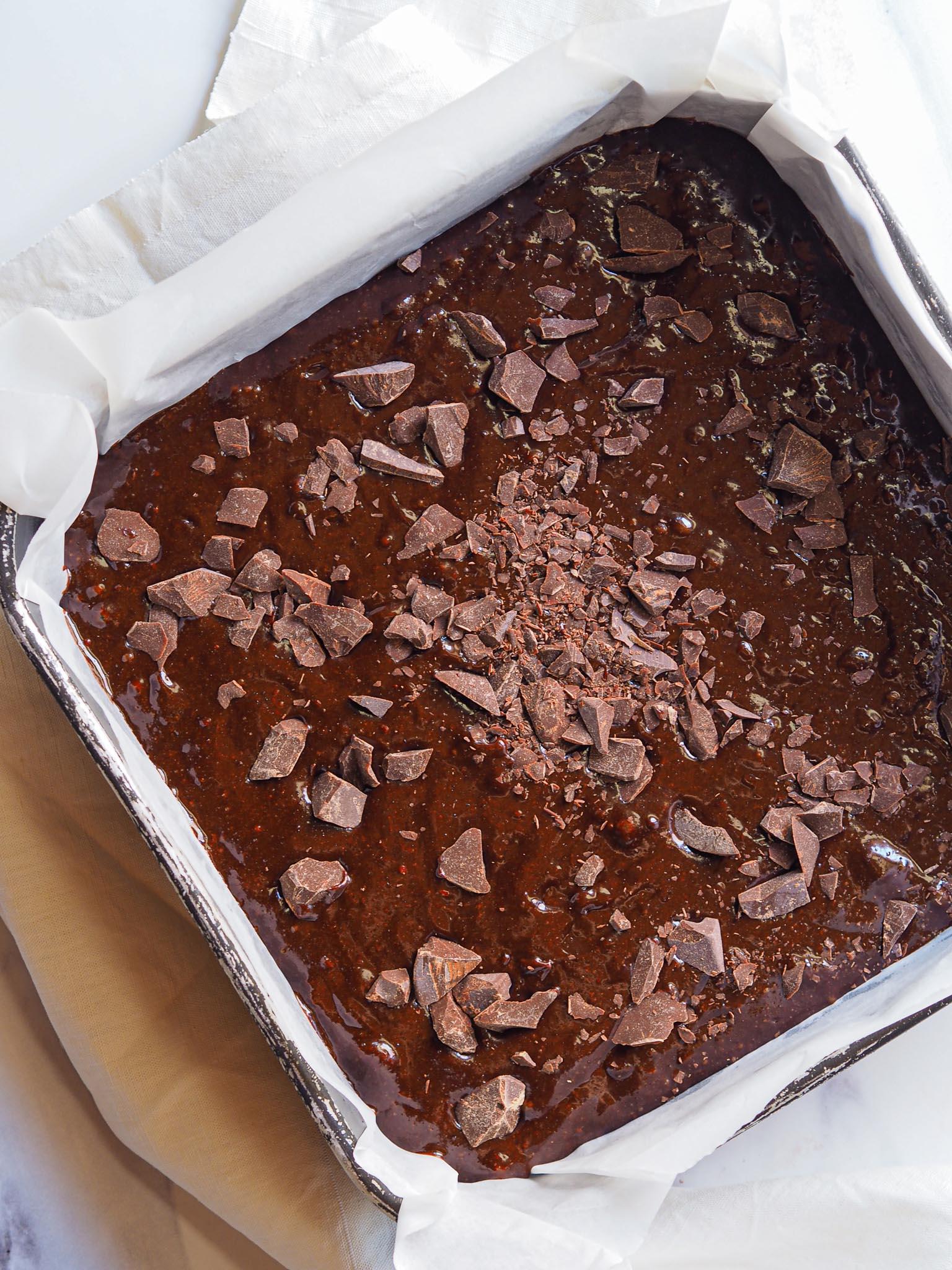 Chocolate brownie recipe step 7