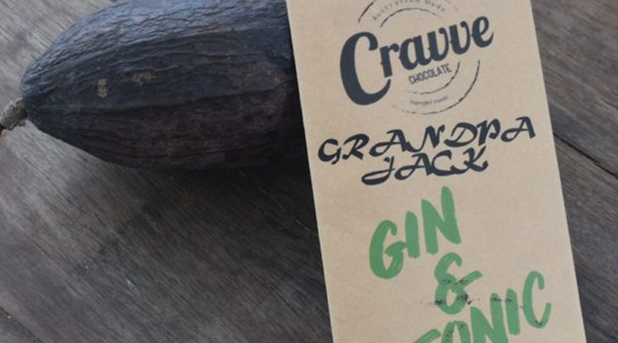 Gin Dark Chocolate Cravve