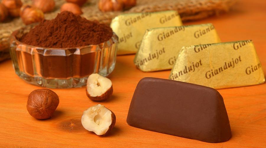traditional gianduja chocolate turin italy