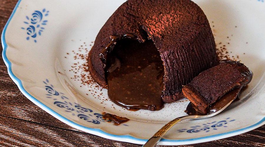 Delicious Dark Chocolate Fondant Recipe
