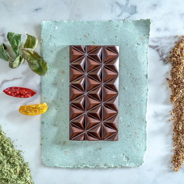 Native fingerlime chocolate