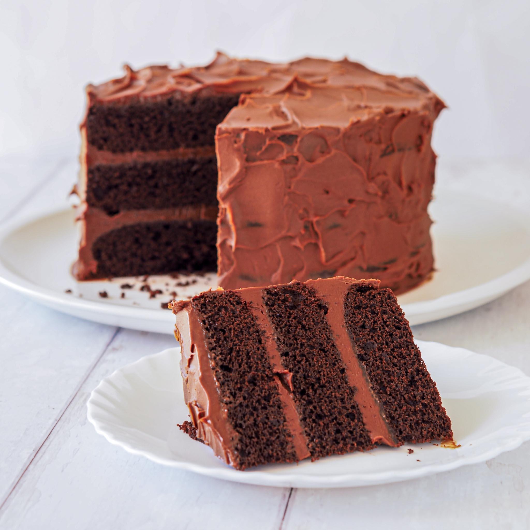 Layer cake cut slide