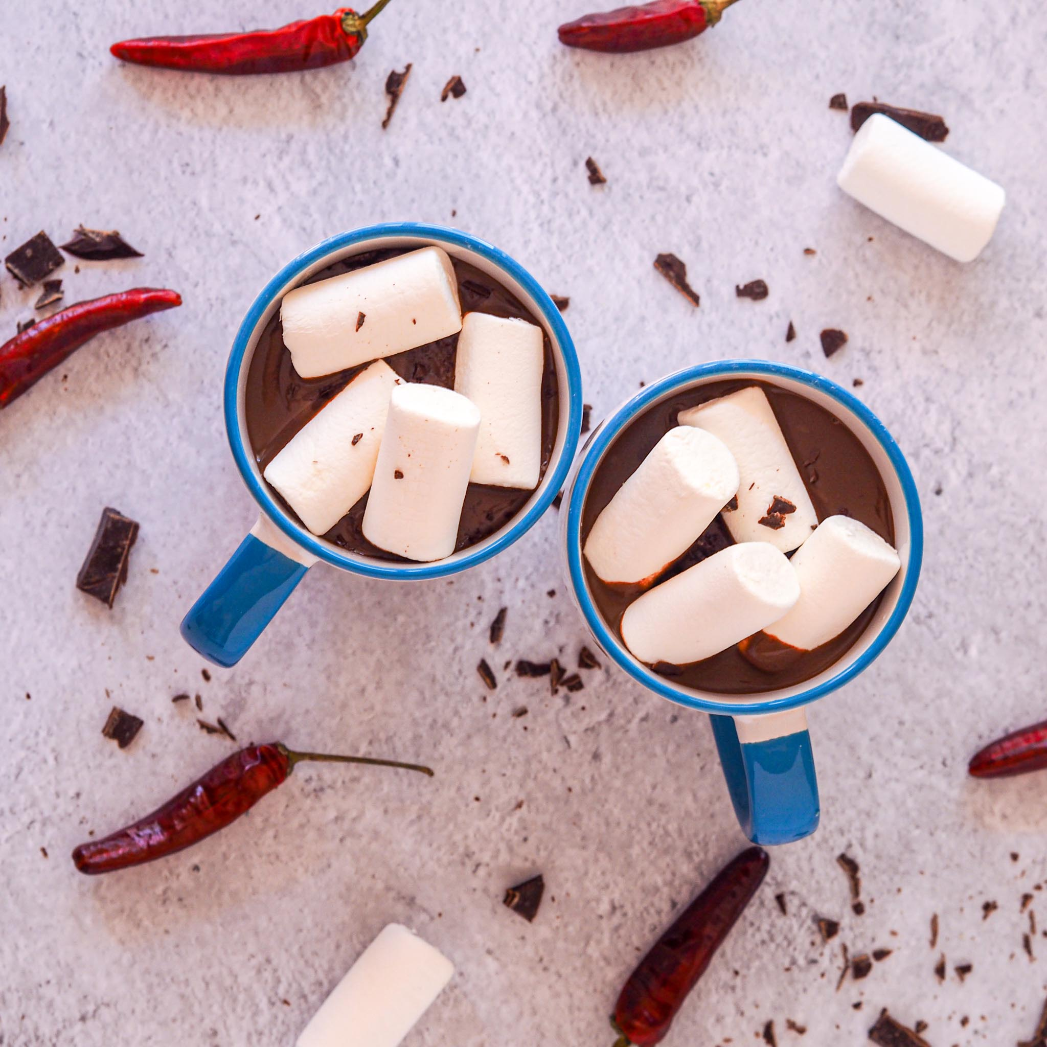 Delicious Spicy Hot Chocolate