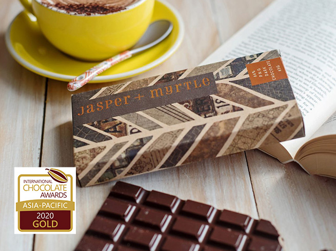 Chocolate award winners 2020 Jasper & Myrtle