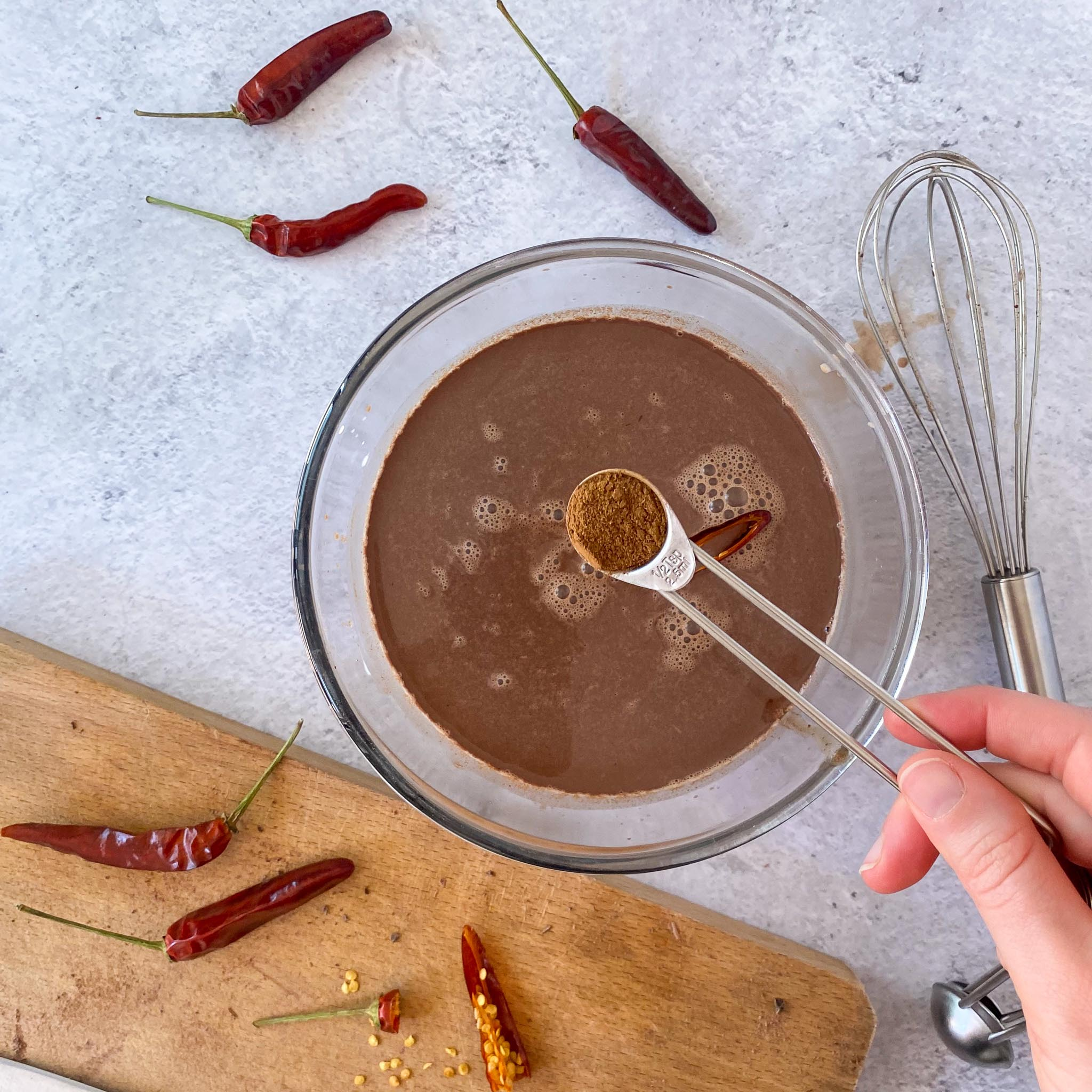Step 5- Aztec Spicy Hot Chocolate
