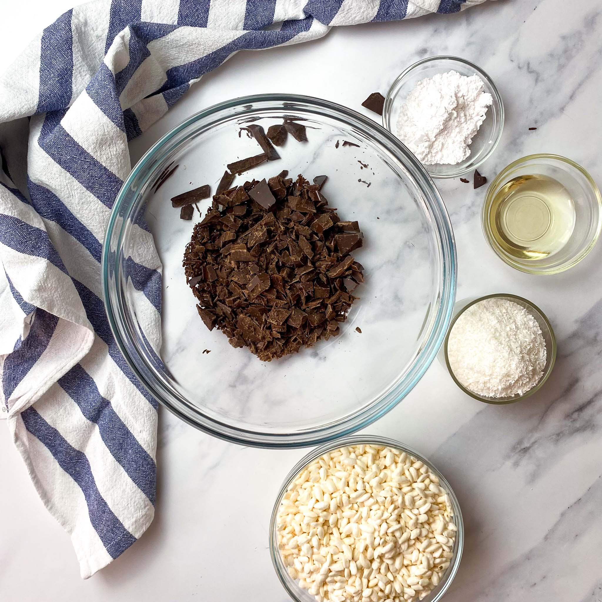 Step 1 Chocolate Crackles