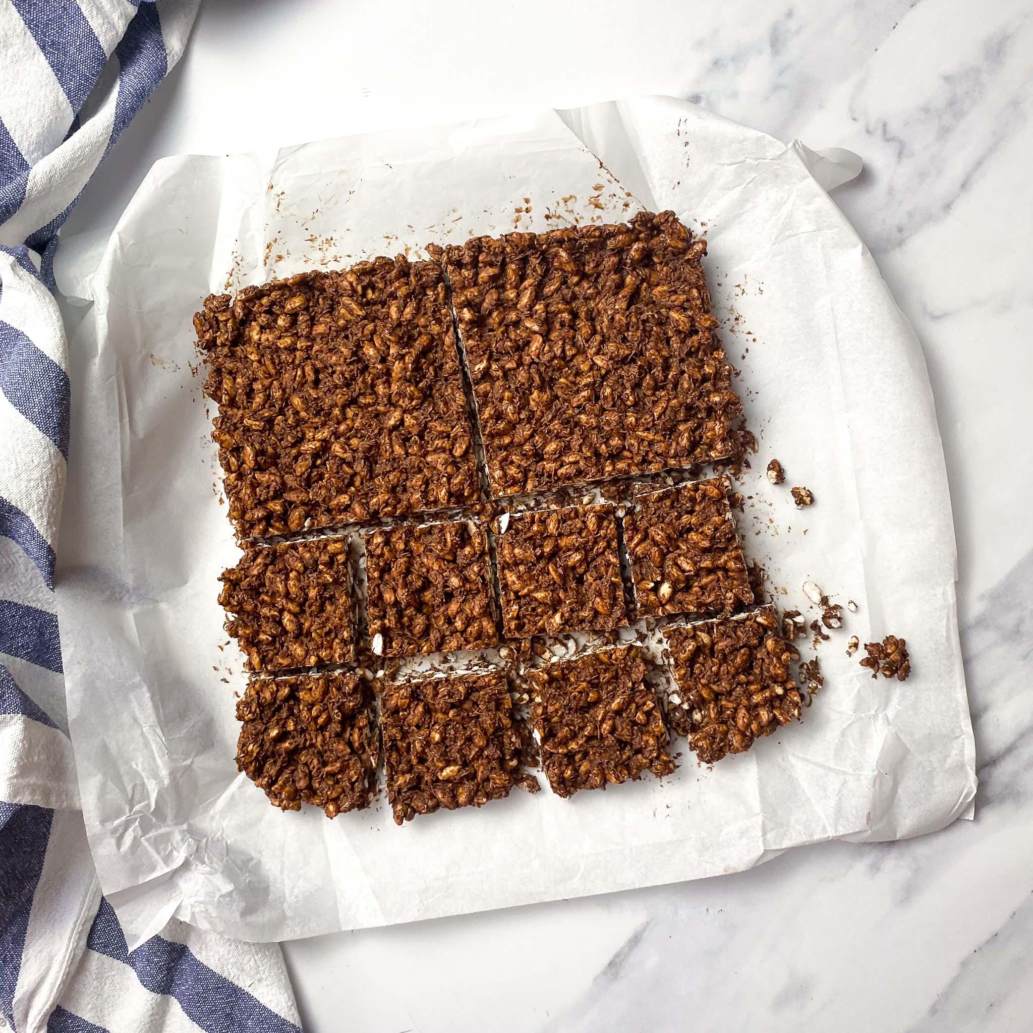 Step 8 Chocolate Crackles