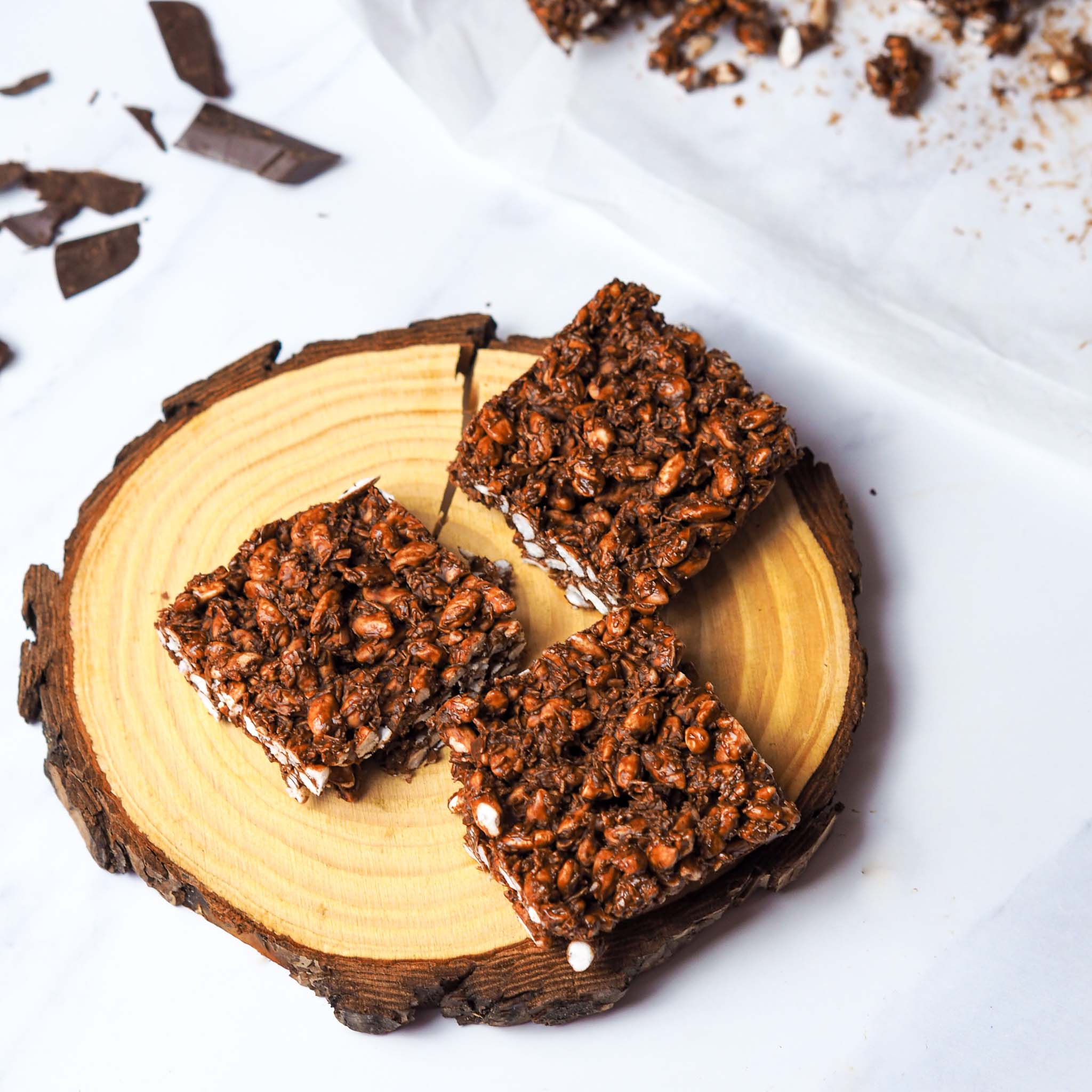 Chocolate Crackles with rice puffs