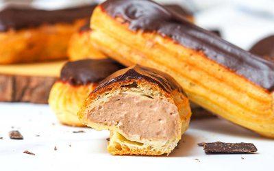 Delicious Chocolate Eclairs Recipe