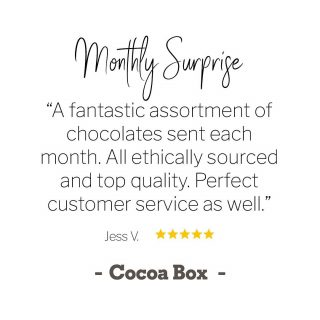 ✨ At Cocoa Box, we LOVE what we do... delivering happiness one box of chocolate at a time! And it makes our day when we get comments like these from our happy customers!  💬 💬 💬