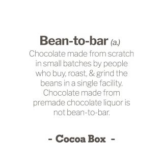 🍫 Craft chocolate terminology... it can be a minefield 🤯! Big thanks to Megan Gillar from @chocolatenoise for putting together a glossary [LINK IN BIO]! ⁠⠀ Bean-to-bar: Chocolate made from scratch in small batches by people who buy, roast, and grind the beans themselves in a single facility. Chocolate made from pre-roasted nibs or premade chocolate liquor is not bean-to-bar. ⁠⠀ ⁠⠀ #beantobar #beantobarchocolate #beantobarchocolatemaker #beantobarchocolates
