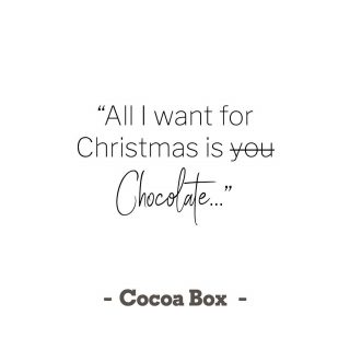 ✨ Seems about right 🤣... After all what's Christmas without chocolate 🍫✨🙌😋?!